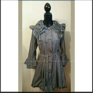 Linea Domani Gray Jacket Size 6P